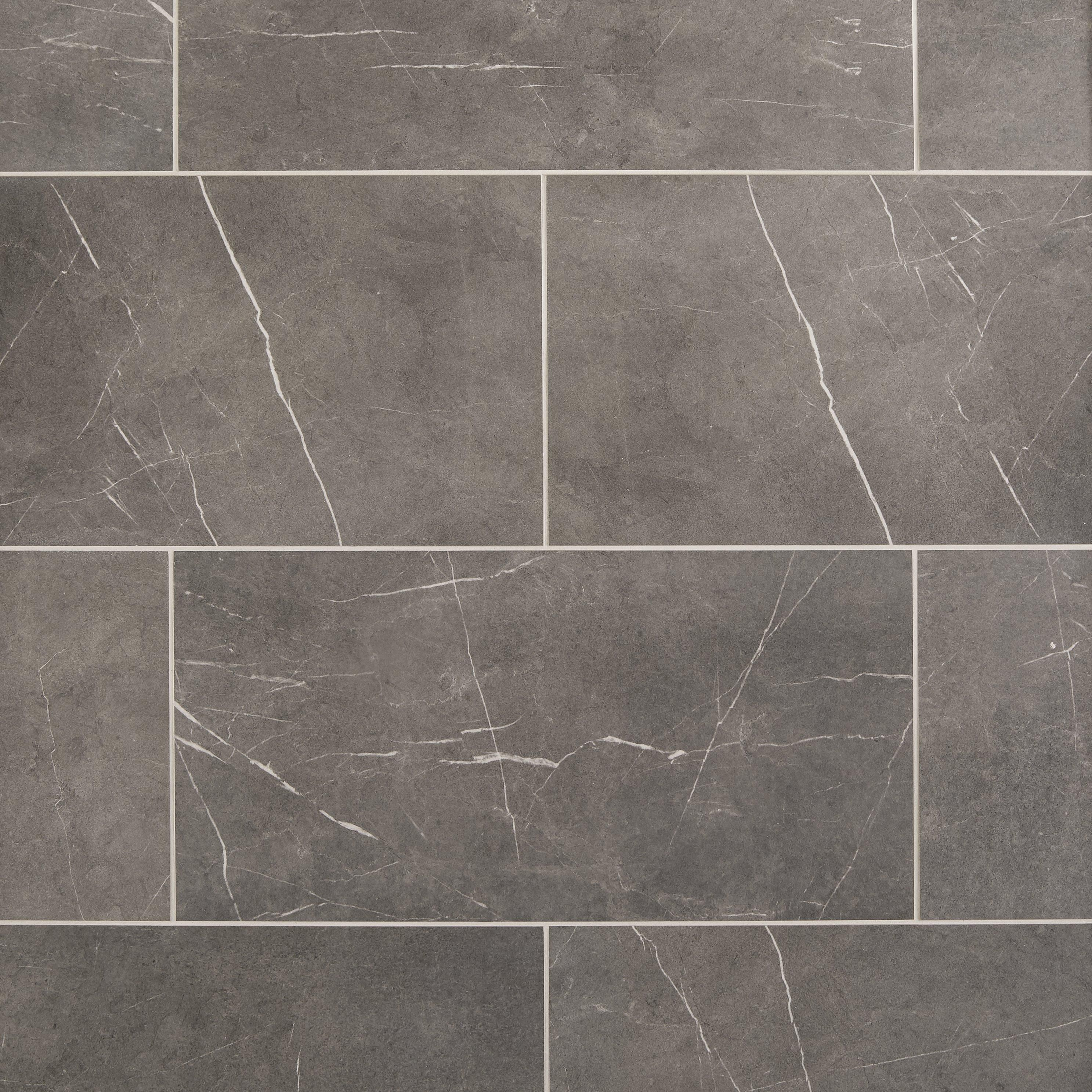 Avon Gray Porcelain Tile In 2020 Gray Porcelain Tile Stone Look Tile Grey Polished Porcelain Tiles
