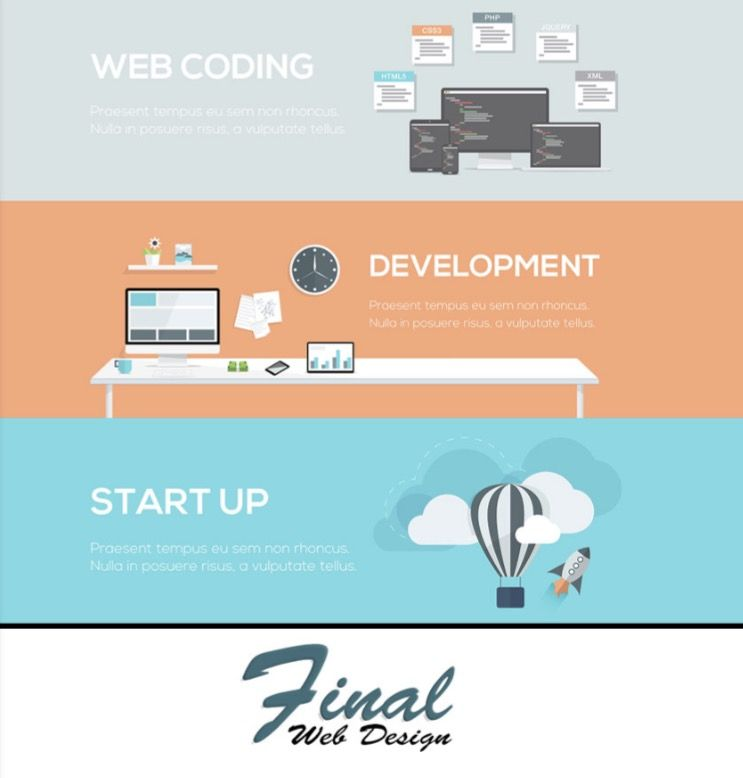 Final Web Design Has Web Development Skills Including Html Css And Javascript Coding To Get Your Custom Features Developed Web Design Coding Web Development