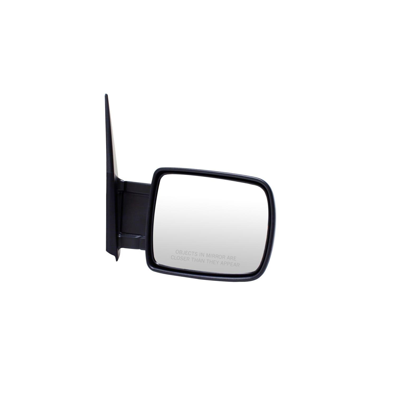 Pilot Automotive TYC 4800011 Black Passenger/ Driver Side Manual Remote Replacement Mirror for Honda Element (