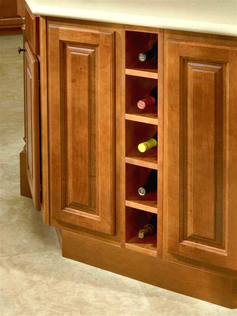 Wine Racks In Kitchen Cabinets Base Wine Rack Modified By Base Spice Rack 6