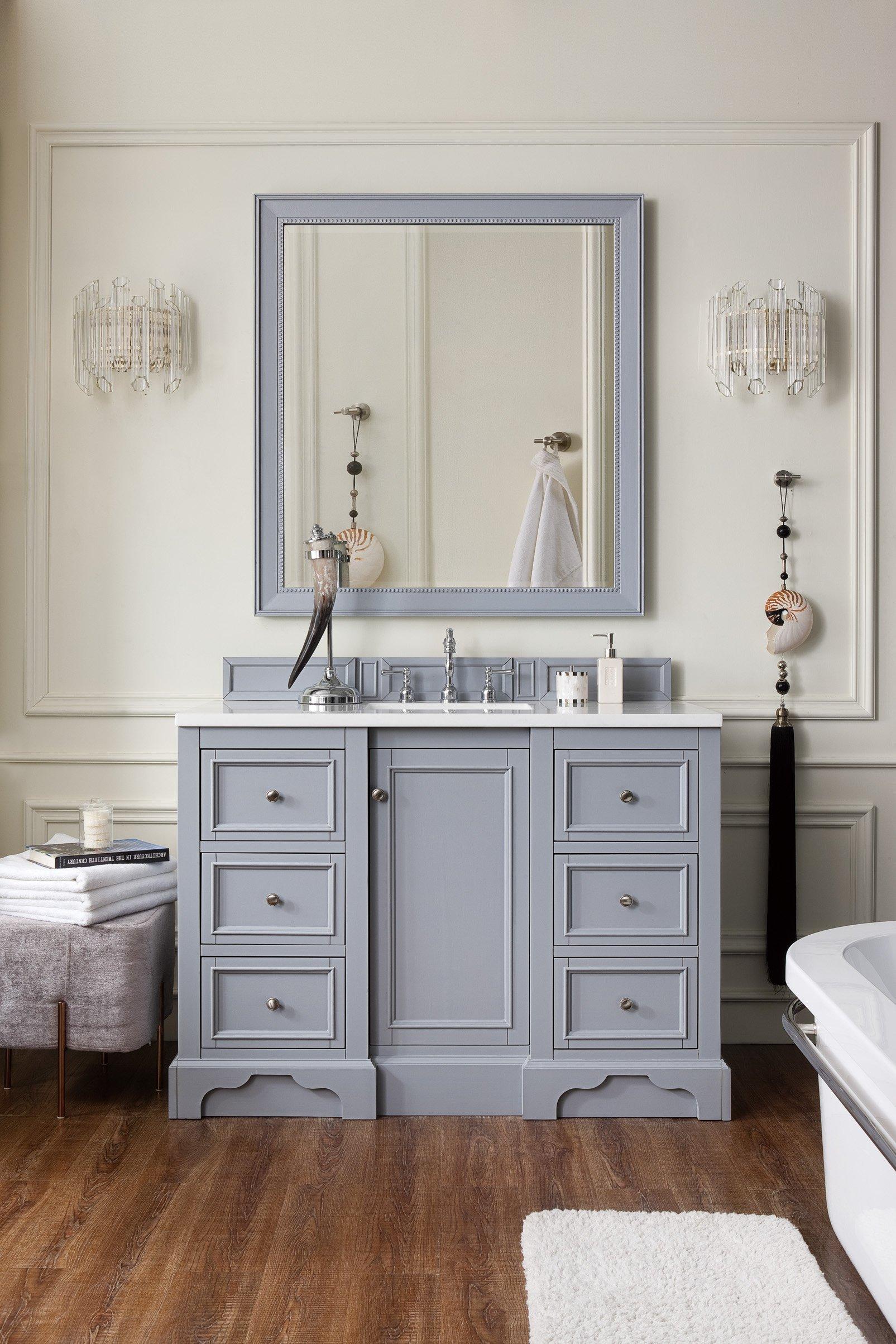 De Soto 48 Single Bathroom Vanity Single Sink Bathroom Vanity Single Bathroom Vanity Bathroom Sink Vanity