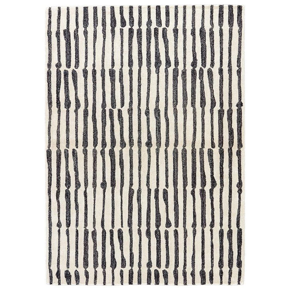 Designer Nikki Chu Looks To The New West For Inspiration And Creates A Fashion Forward Hand Tufted Rug In A Wool V Hand Tufted Rugs Black Area Rugs Area Rugs