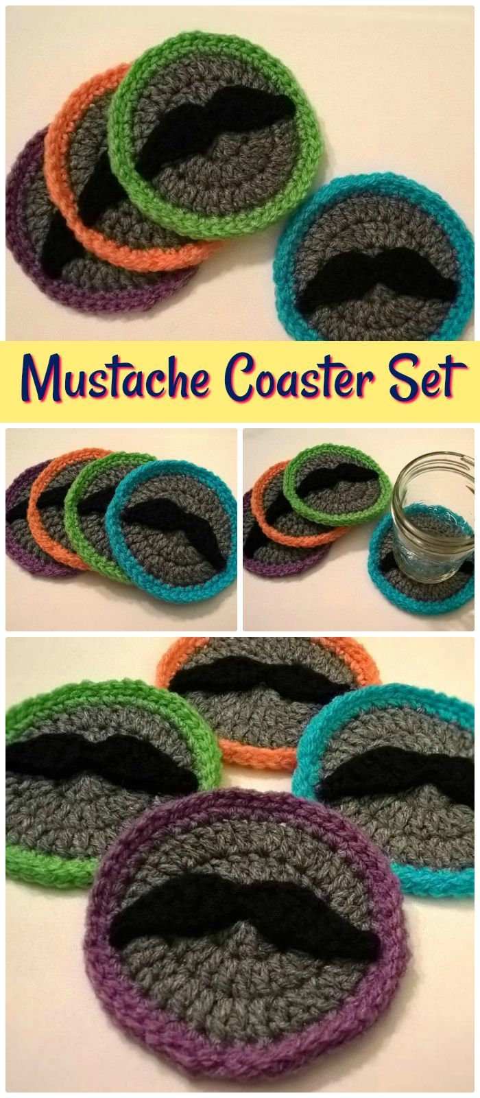 Free Crochet Coaster Patterns Look Very Beautiful And Cute With The