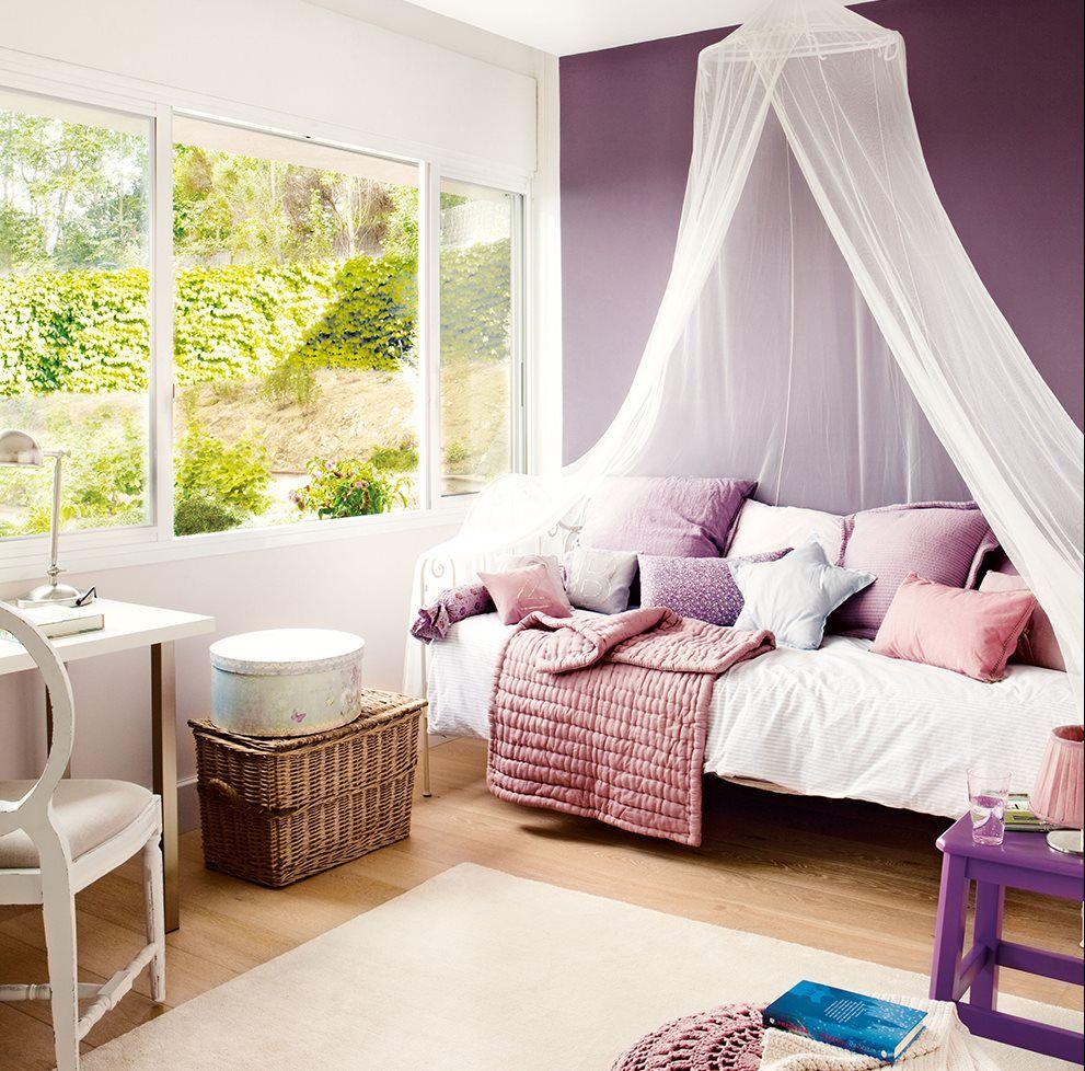 14 ideas para pintar la habitaci n de los ni os kidsroom - Decoracion de paredes de dormitorios juveniles ...