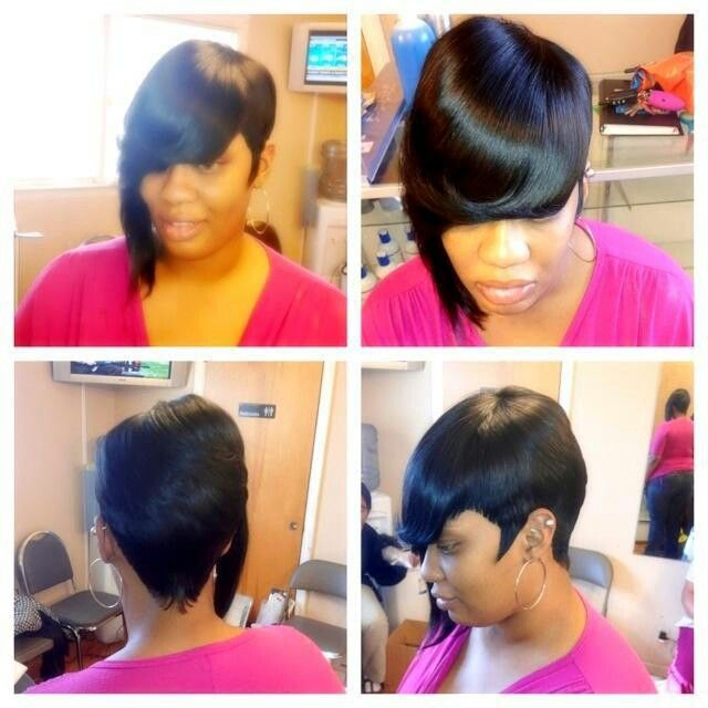 nice quick weave and cut #27piecehairstyles