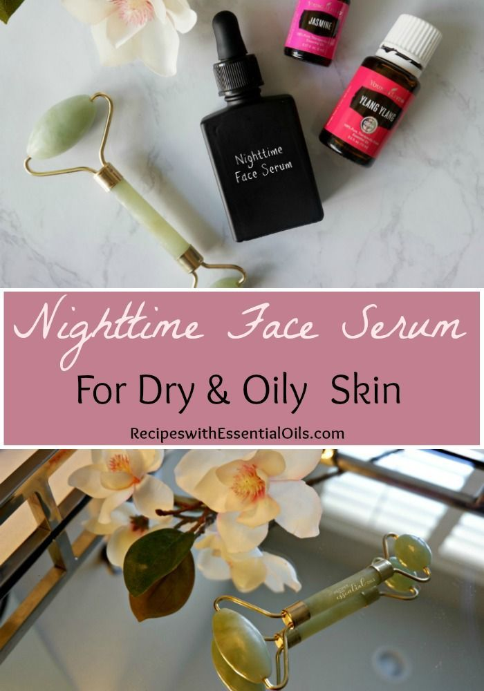 Nighttime Face Serum - Recipes with Essential Oils