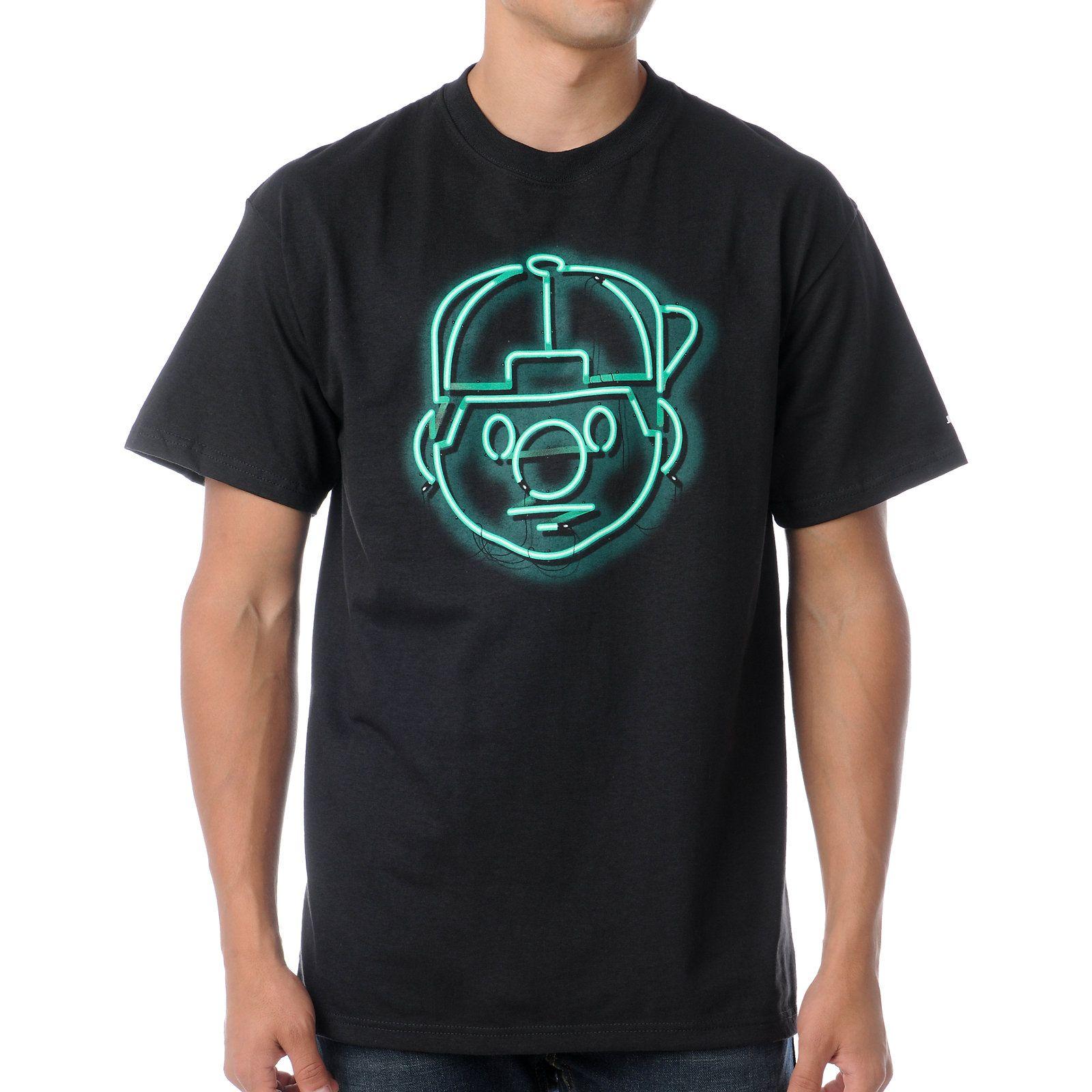 d0c2a35da3f56f Trukfit Tommy Neon Black Tee Shirt at Zumiez   PDP