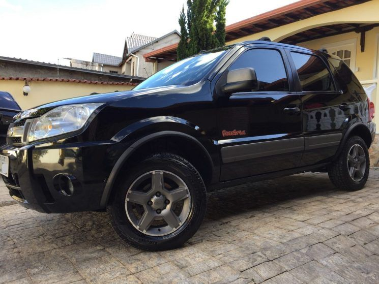 Ford Ecosport Xlt Freestyle 1 6 8v Ford Ecosport Ford Banco De Couro