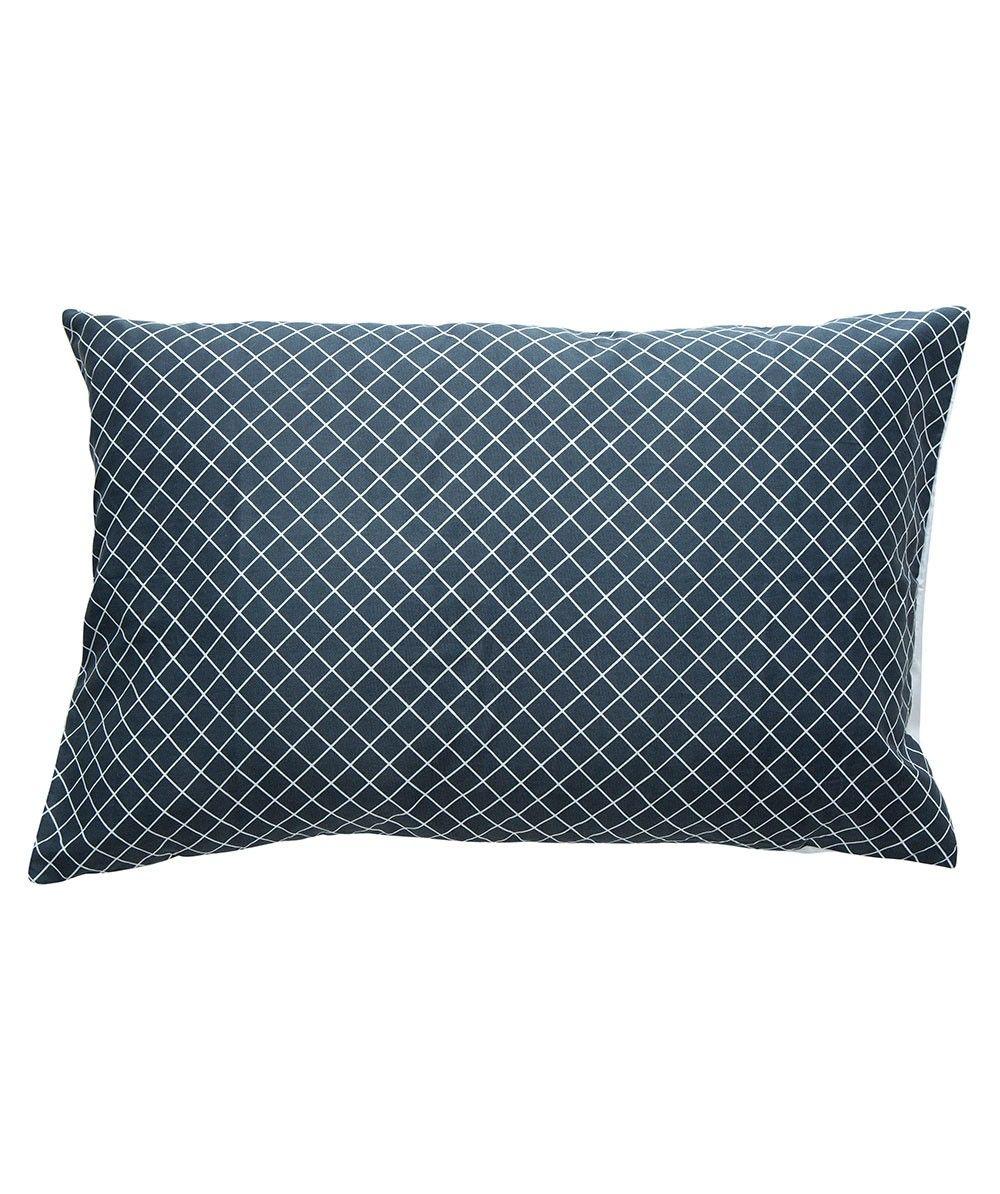 Diagonal Grid Pillow Case Set. | http://www.huntingforgeorge.com