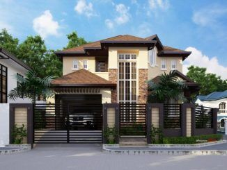 Two story residential house storey design philippine architecture amazing also best dream images rh pinterest