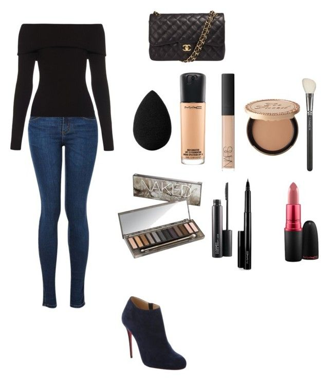 """""""Untitled #135"""" by marksthomas ❤ liked on Polyvore featuring beauty, A.L.C., Christian Louboutin, NARS Cosmetics, Chanel, MAC Cosmetics, Urban Decay, Too Faced Cosmetics and beautyblender"""