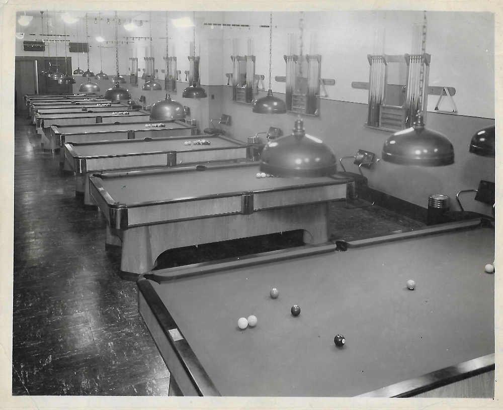 A. E. Schmidt Billiards Company Antique pool tables