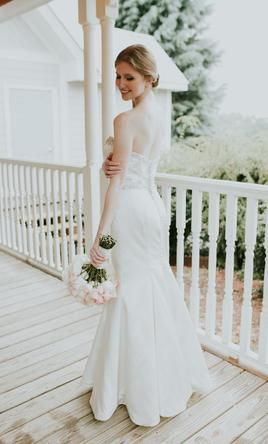 Lillian West Wedding Dress (Street Size 0): Buy this dress for a fraction of the salon price on PreOwnedWeddingDresses.com
