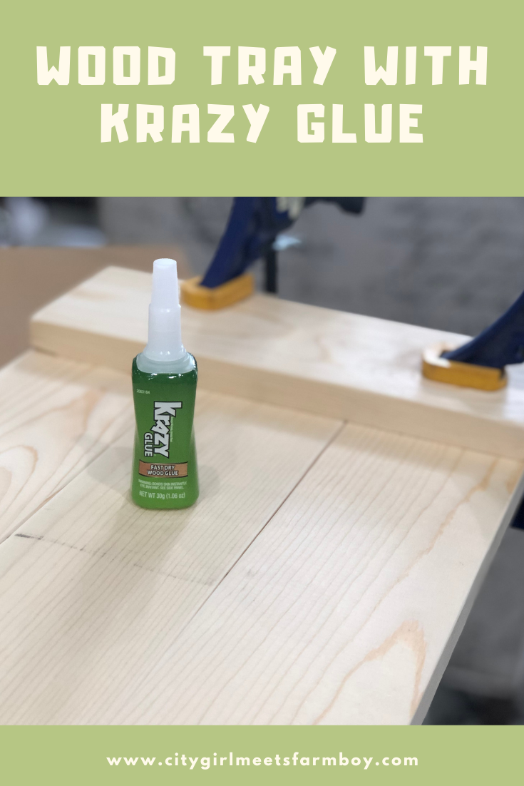 How To Make A Wood Tray In Just An Afternoon In 2020 Wood Glue Wood Tray Diy Videos Tutorials