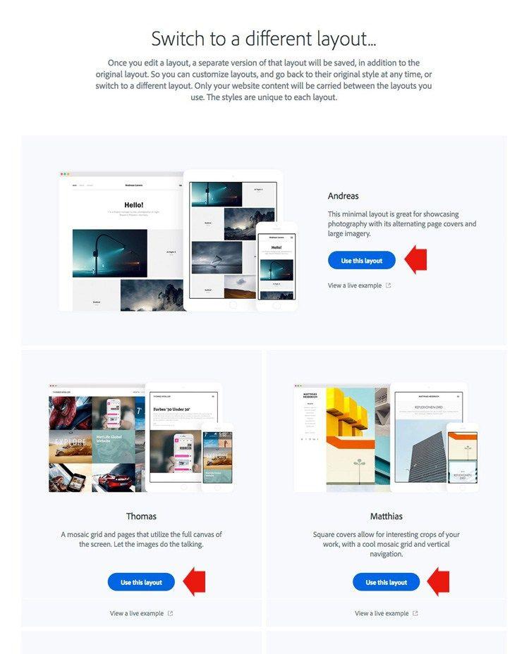 Adobe lightroom web gallery