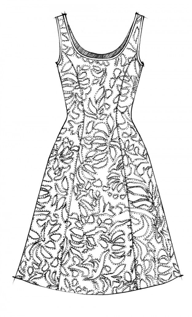Alabama Chanin | sewing | Pinterest | Costura, Bordado y Moldes