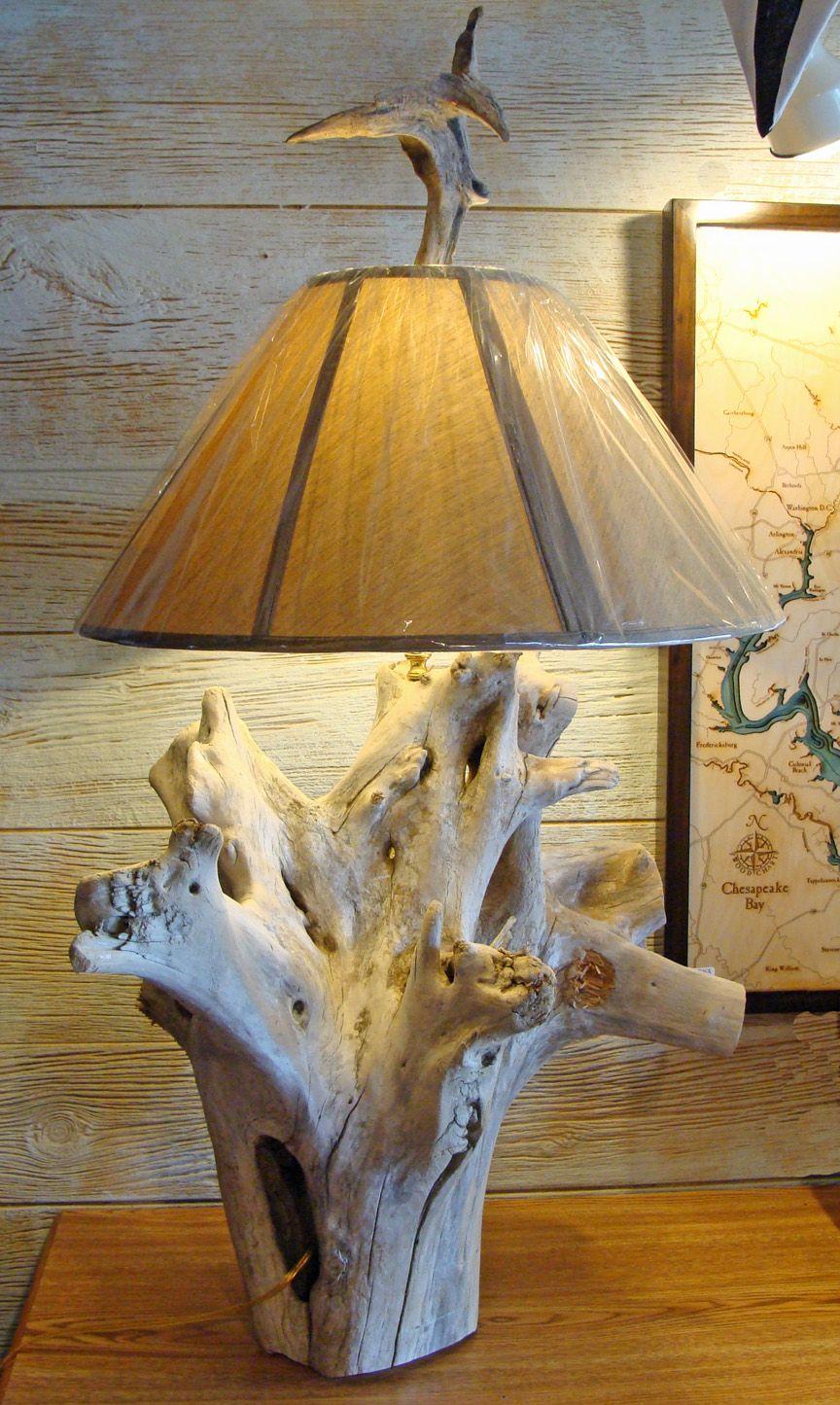 Pin de miroslava apesetche en detalles para la casa - Lamparas de pie rusticas de madera ...