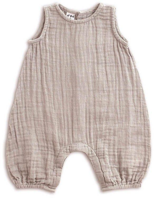 Cotton Crepe Romper #babykidclothesandideas
