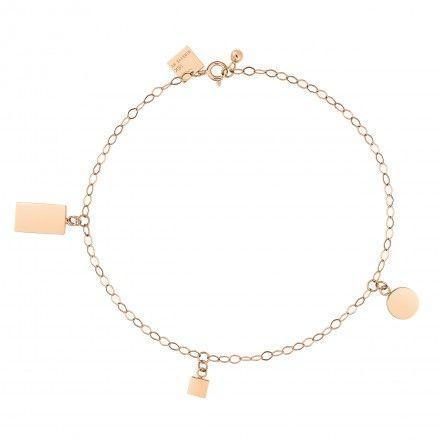 Ginette NY Fusion 18-karat rose gold bracelet nZYOYFHK2