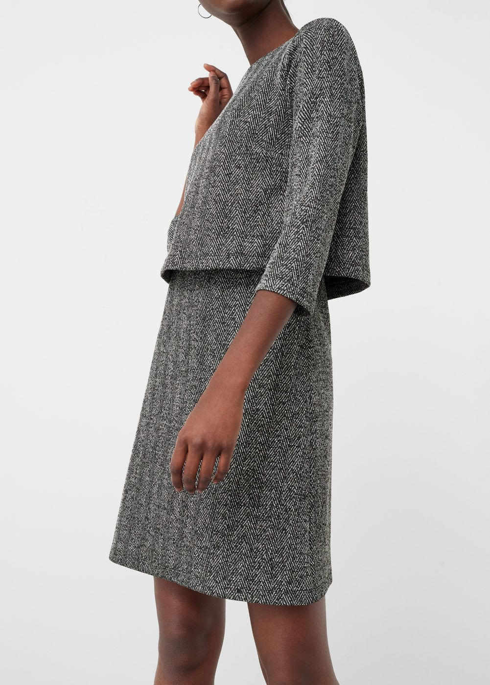 40€ Vestido doble capa | MANGO