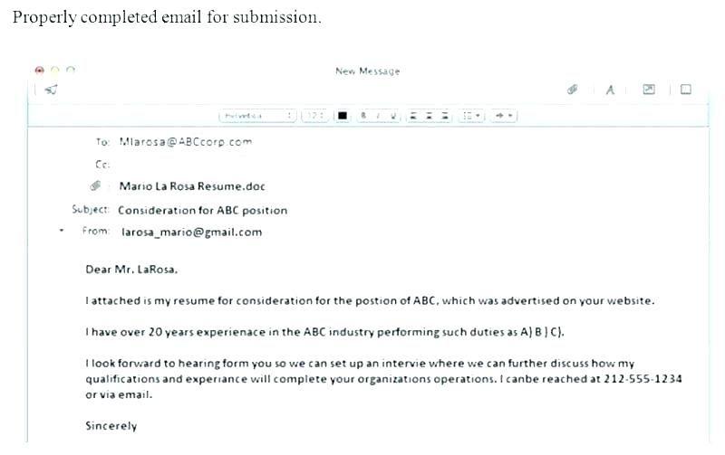 format for sending resumes karanald2014 in 2020  email