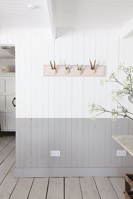 20++ Grey walls with white panelling ideas