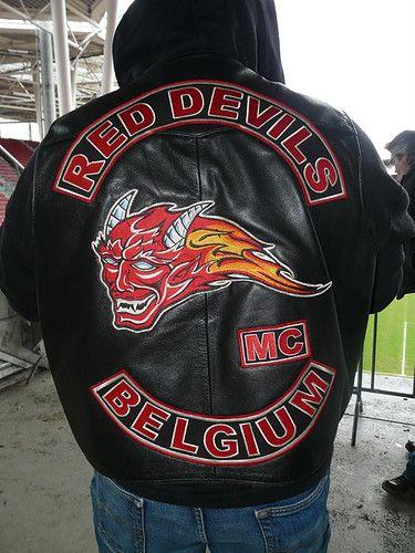 Marque Nouveau Trésorier rouge Chopper Moto Motard Club iron on patch