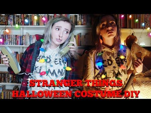 halloween ideas stranger things house halloween costume diy youtube