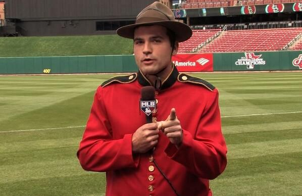Joey Votto being his Canadian self