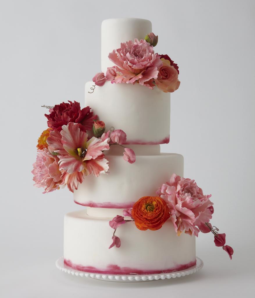 enchanting spring wedding cake ideas white cakes pinterest