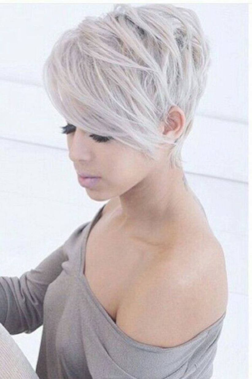 brilliant edgy pixie hairstyles for active women shorts