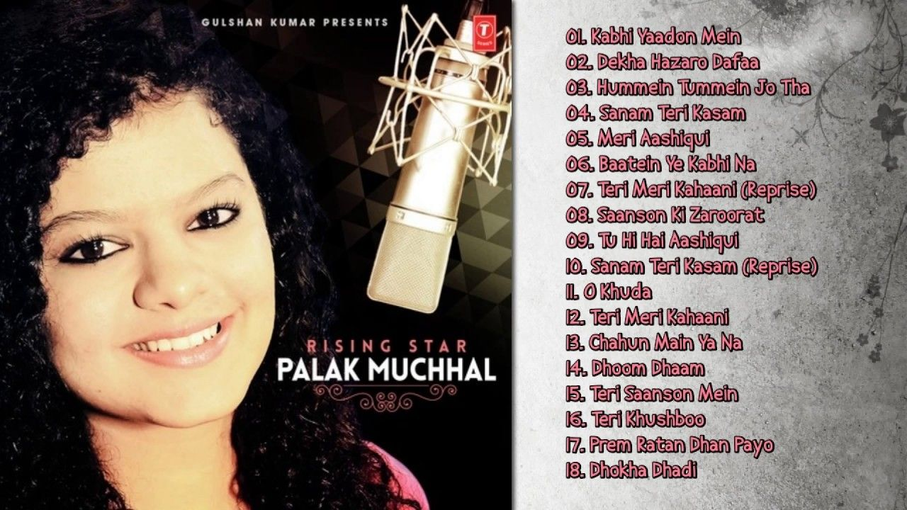 Best Of Palak Muchhal New Bollywood Songs Jukebox Bollywood Songs Mp3 Song Download Mp3 Song
