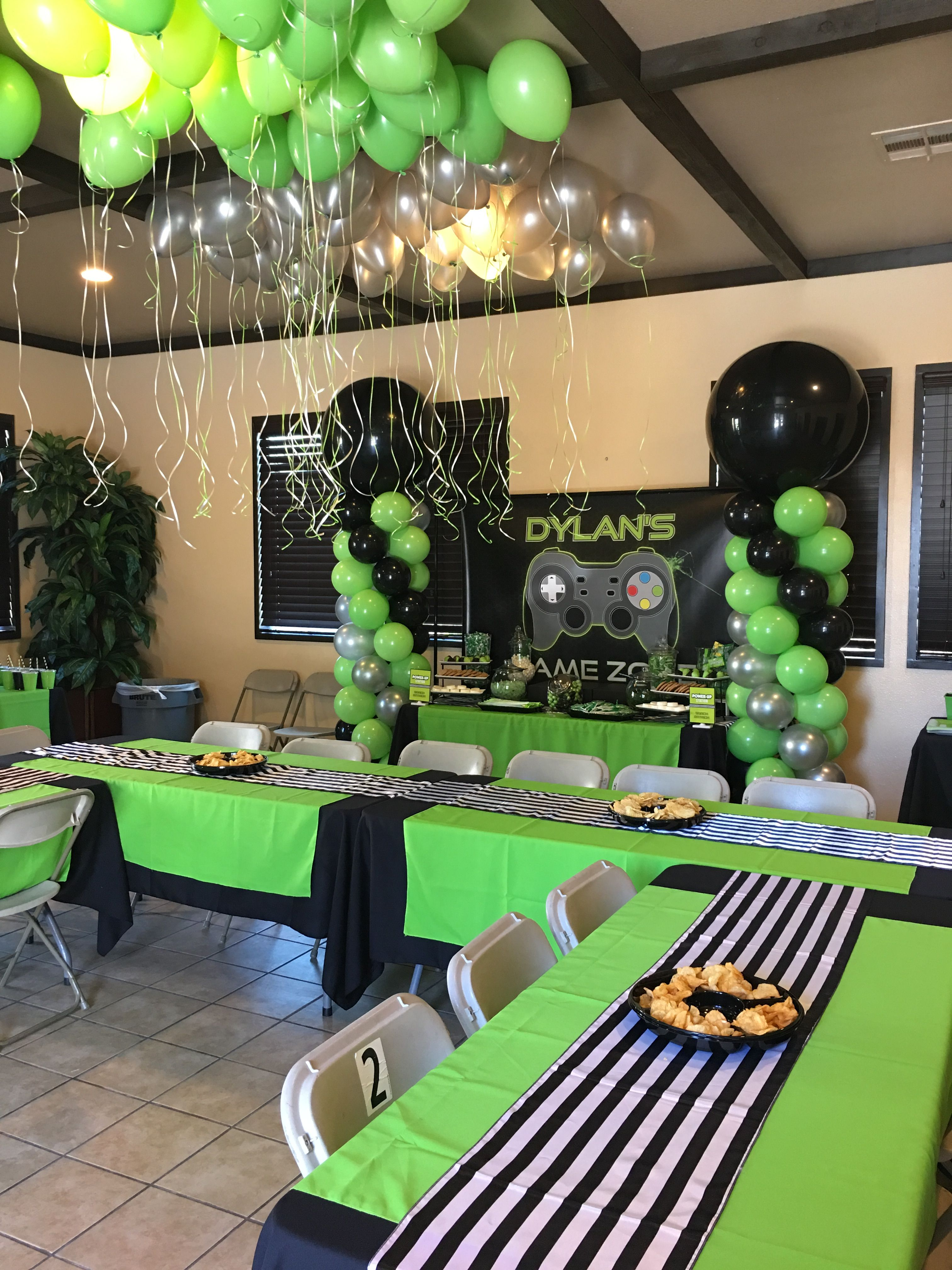 Video game party Party ideas Pinterest Video game