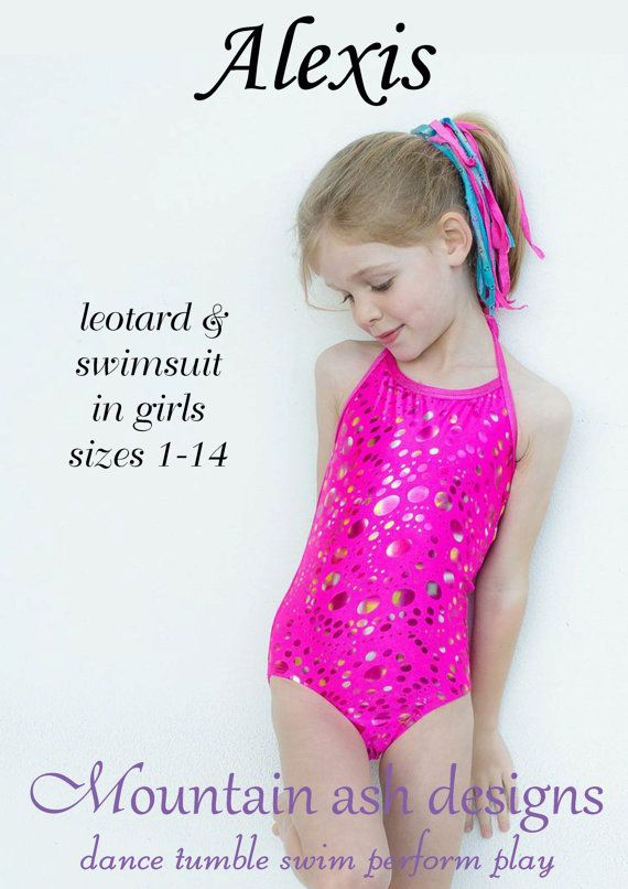 Ballet Leotard pattern Alexis Leotards and swimsuits sewing pattern ...