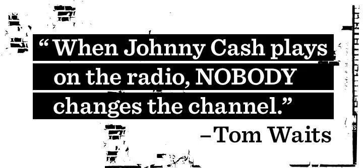Nobody Changes The Channel Tom Waits Johnny Cash Johnny Words Well, i ain't never done nothin' to nobody i ain't never got nothin' from nobody, no time and until i get somethin' from somebody, sometime i don't intend to do. pinterest