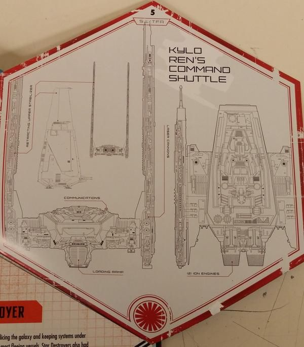 SPOILER ALERT! This blueprint just in of Kylo Renu0027s command shuttle - new no blueprint meaning