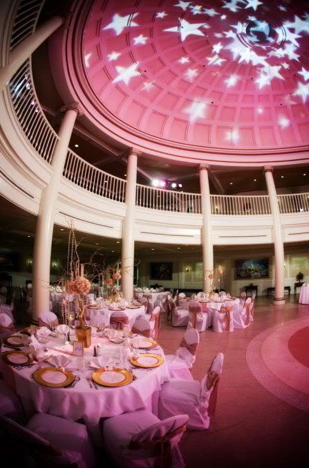 Wedding Reception At The American Adventure Rotunda Epcot Spotlight Christin Ryan Magical Day Weddings A Atlas Fan Site For