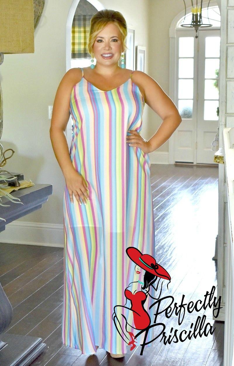 Sweet Endeavors Striped Maxi Dress Multi In 2021 Dresses Maxi Dress Striped Maxi Dresses [ 1250 x 800 Pixel ]
