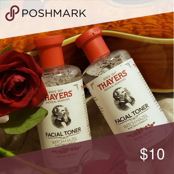 Thayer's facial Toner Rose Petal 12 oz 2 for 10. Brand