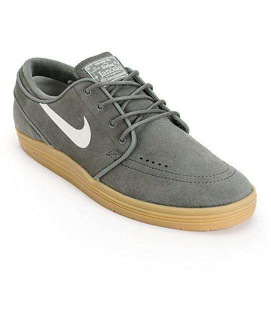 timeless design 9aa43 2260a Nike SB Lunar Stefan Janoski River Rock   Gum Skate Shoes