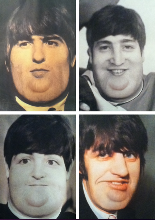 The Beatles in the fat booth!