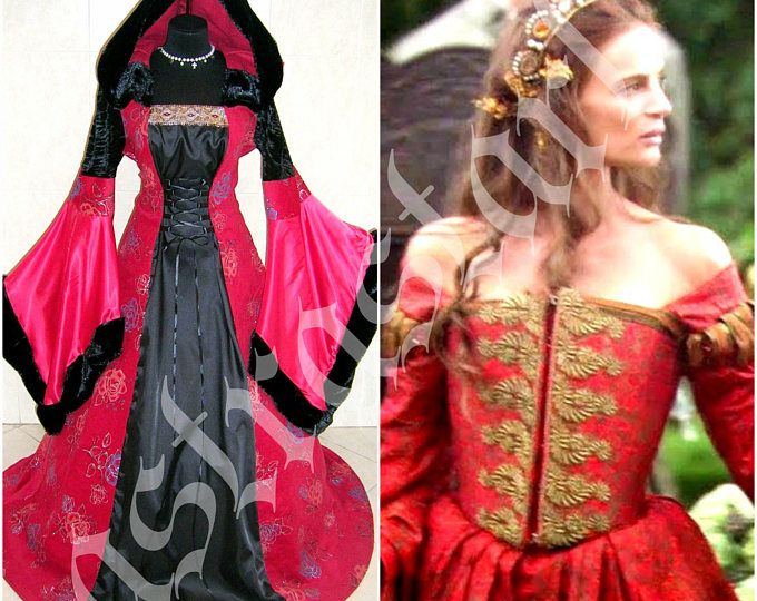 HALLOWEEN dress 16-18-20 L-XL-2XL medieval costume renaissance gothic  sc 1 st  Pinterest & HALLOWEEN dress 16-18-20 L-XL-2XL medieval costume renaissance ...