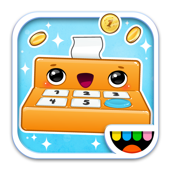 The Toca Store icon by Toca Boca. http://itunes.apple.com/us/app ...