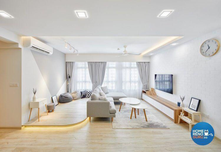 7 Must Have Scandinavian Characteristics For Different Hdb Rooms In 2020 Living Room Scandinavian Interior Design Singapore Living Room Interior