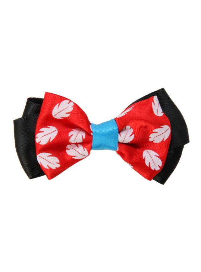 Disney Lilo Sch Red Hair Bow From Hot Topic