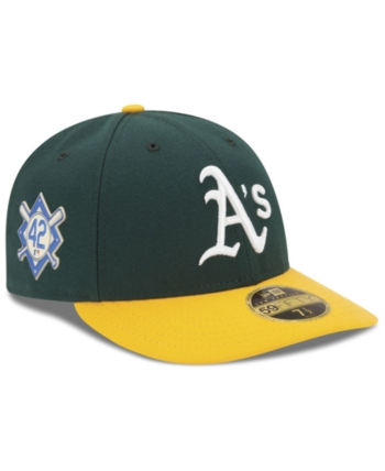 more photos ac8e6 ce8a3 New Era Oakland Athletics Jackie Robinson Day Low Profile 59FIFTY Fitted Cap  - Green 7 1 8