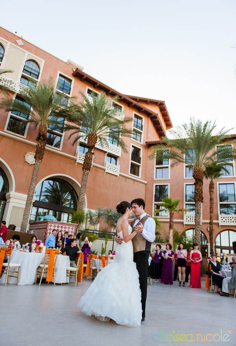 Westin Lake Las Vegas Wedding Reception Lotus Court