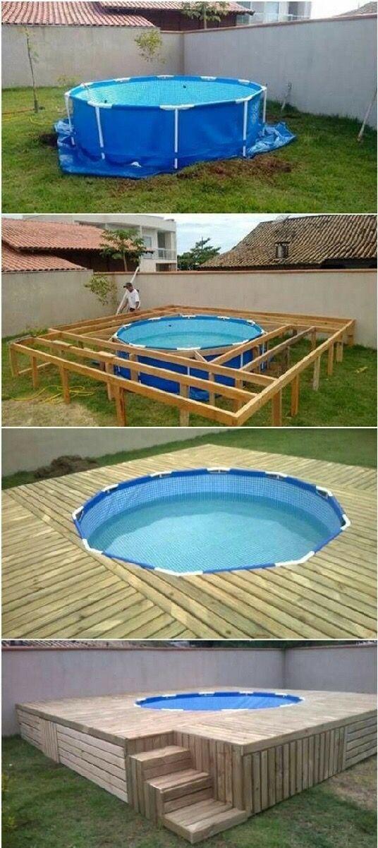 pingl par alexis sur diy pinterest piscines d co fa ade ext rieure et ext rieur. Black Bedroom Furniture Sets. Home Design Ideas