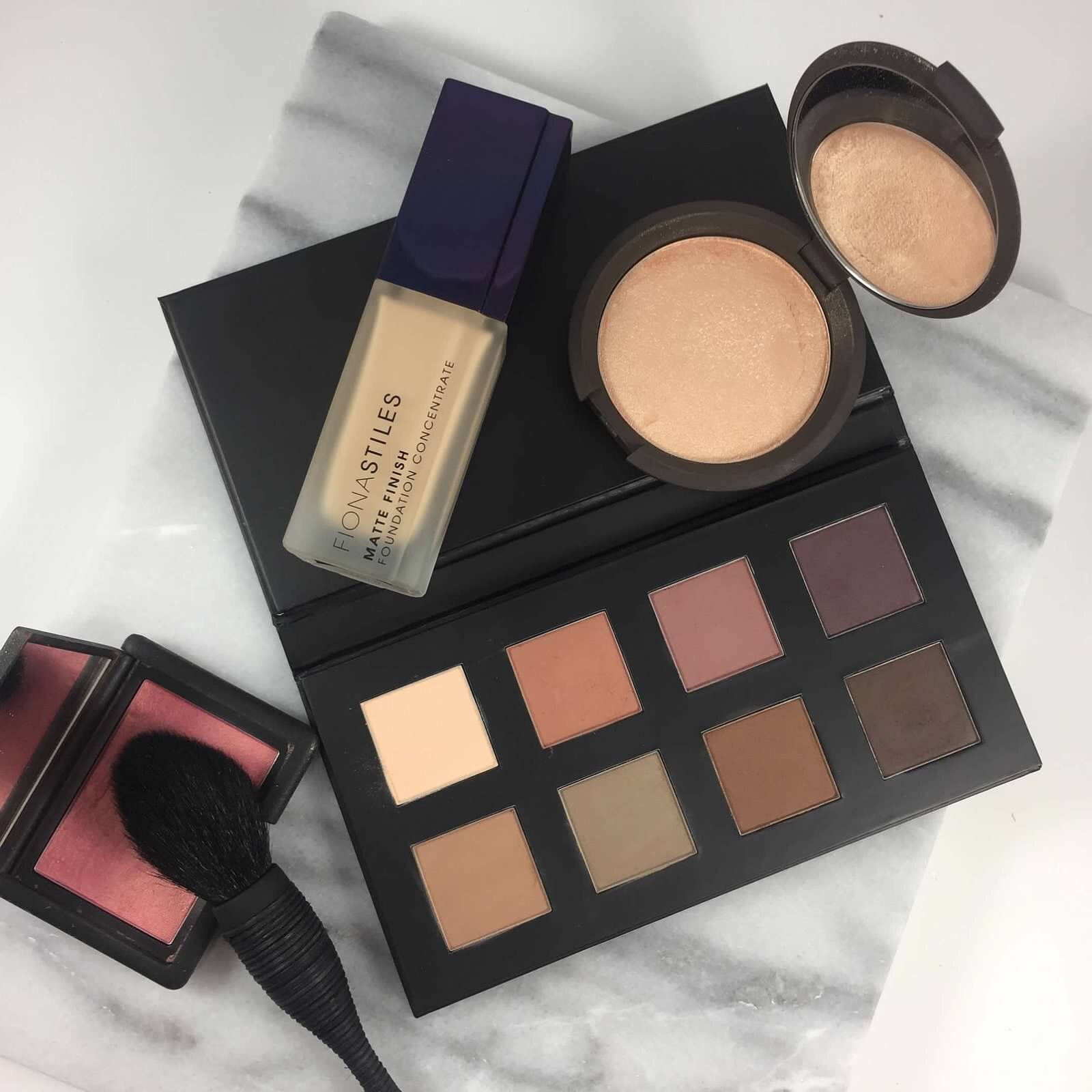 Japonesque Eyeshadow Palette Fiona Stiles Matte Foundation