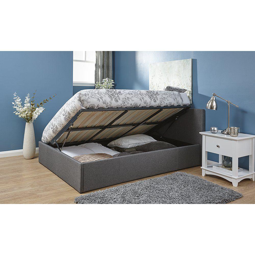 laverock upholstered ottoman bed bedroom ottoman bed rh pinterest ca